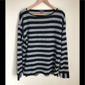 NWOT Vince Camuto boatneck striped sweater